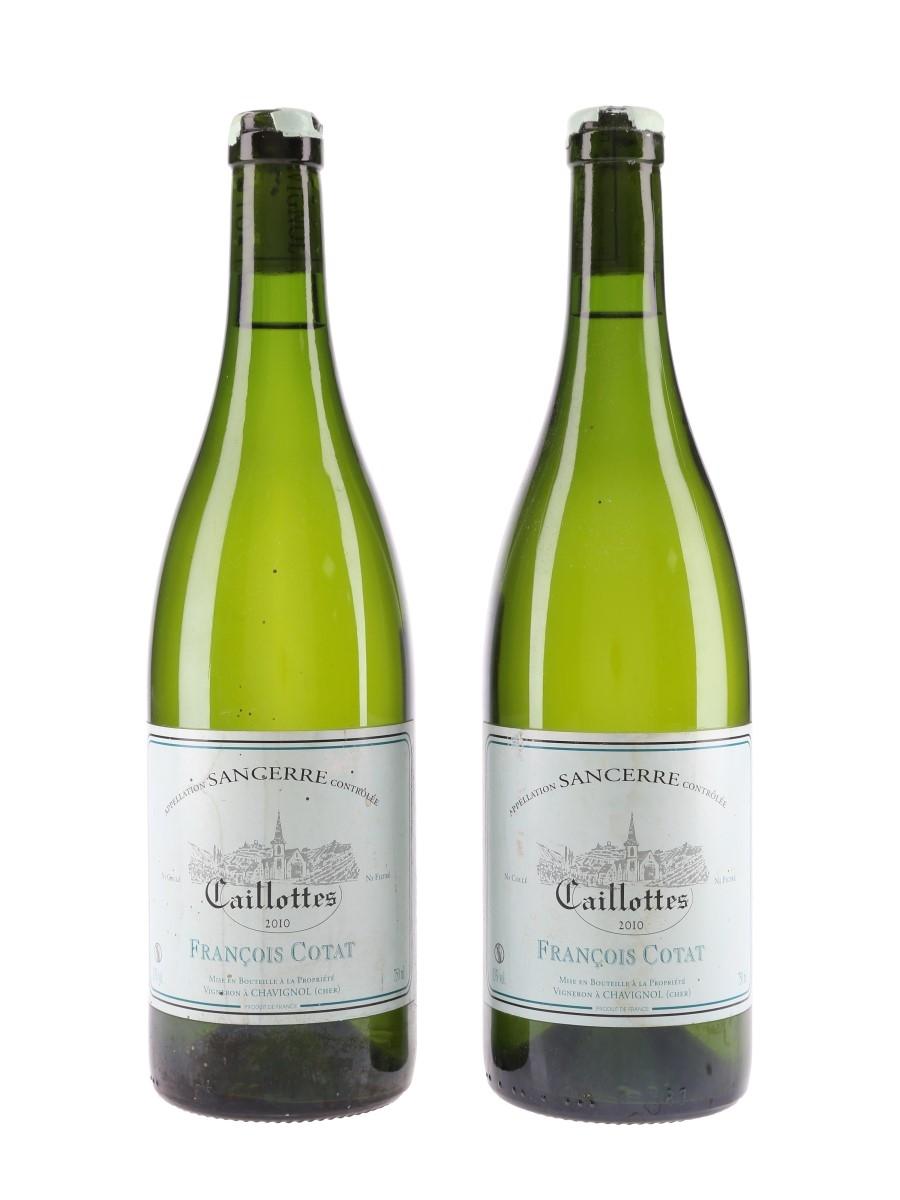 Sancerre Caillottes 2010 Francois Cotat 2 x 75cl / 13%