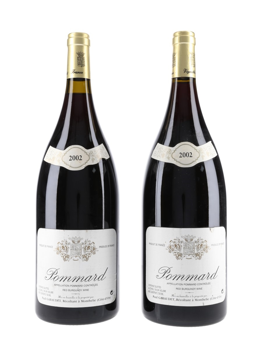 Pommard 2002 Paul Garaudet - Large Format 2 x 150cl / 13%