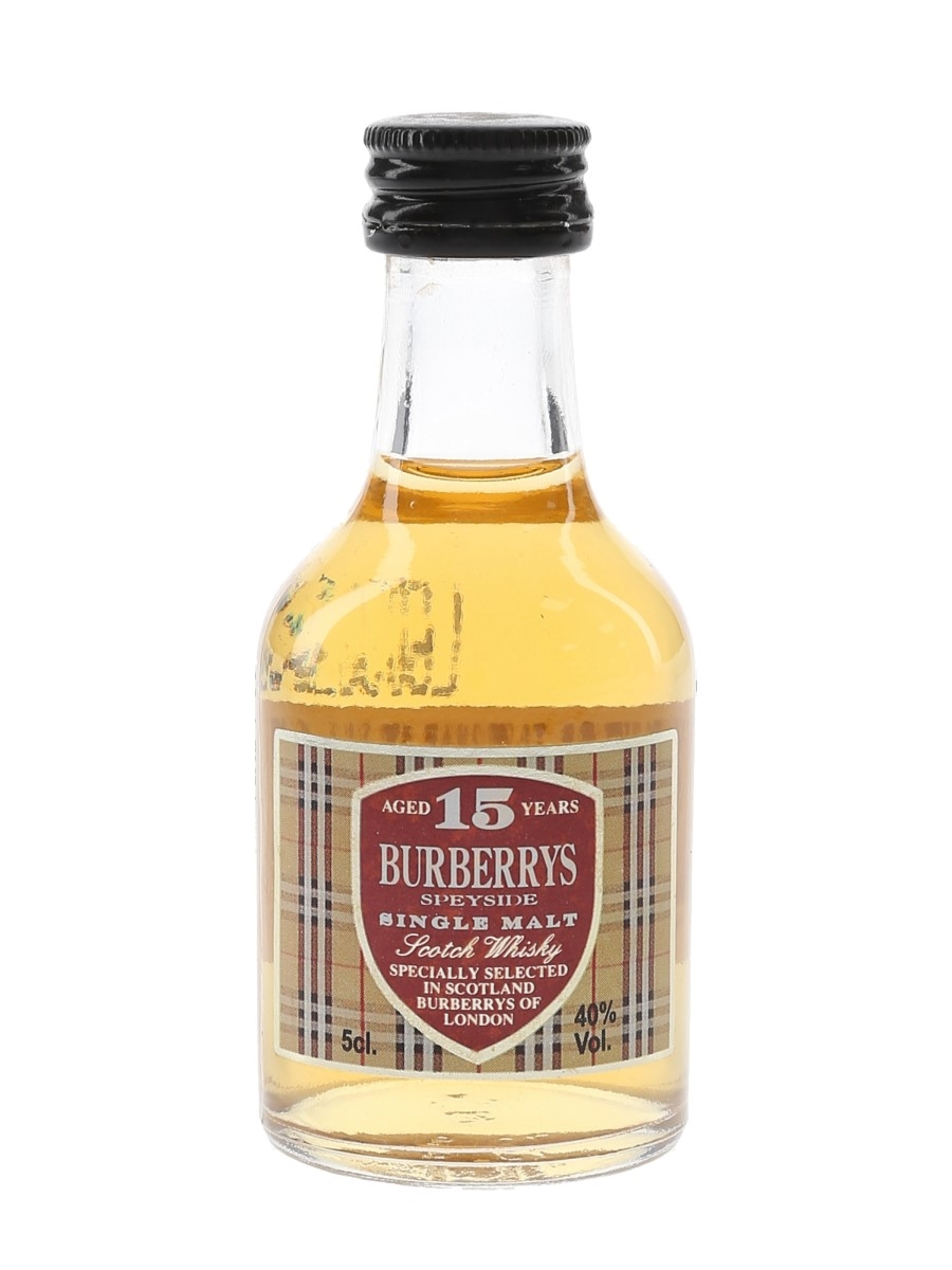 Burberrys 15 Year Old  5cl / 40%