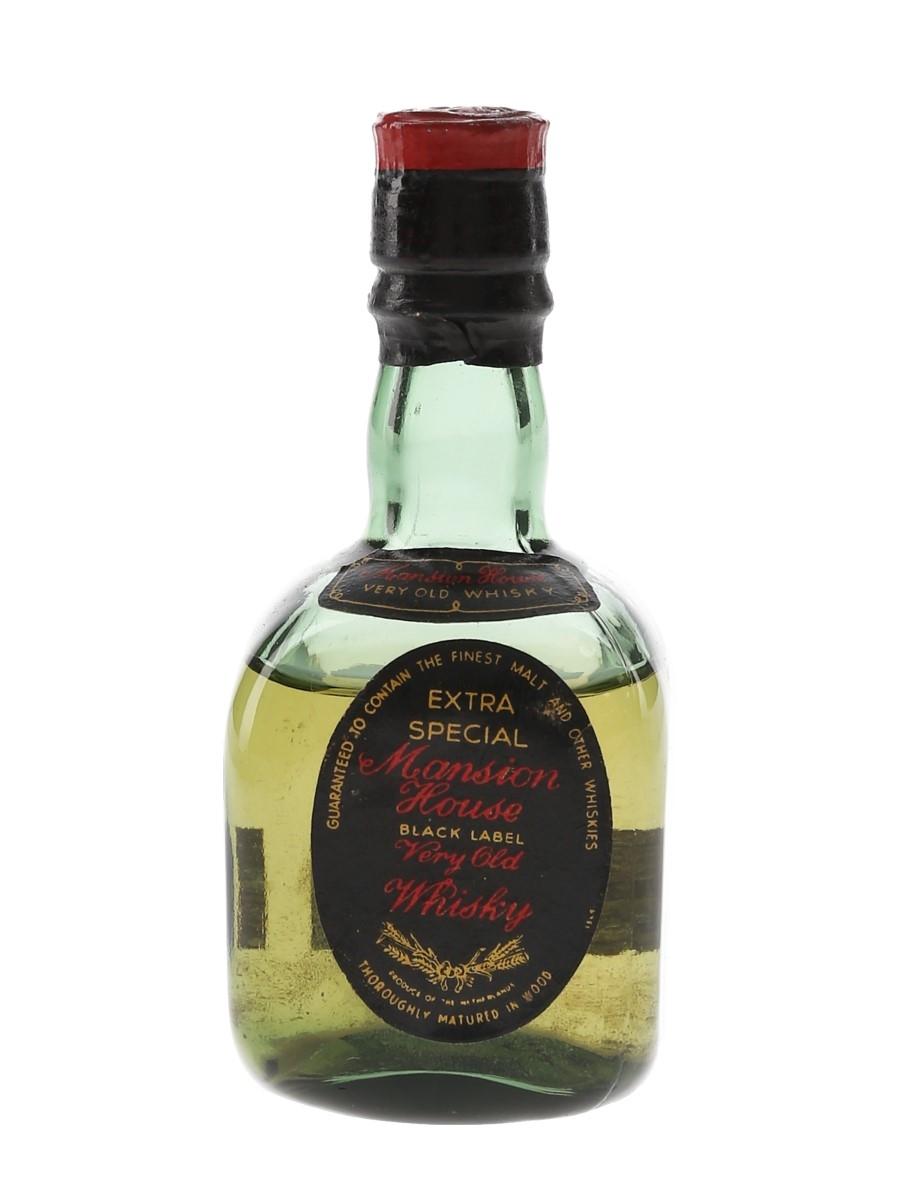 Mansion House Black Label Extra Special Bottled 1960s - Netherlands 5cl