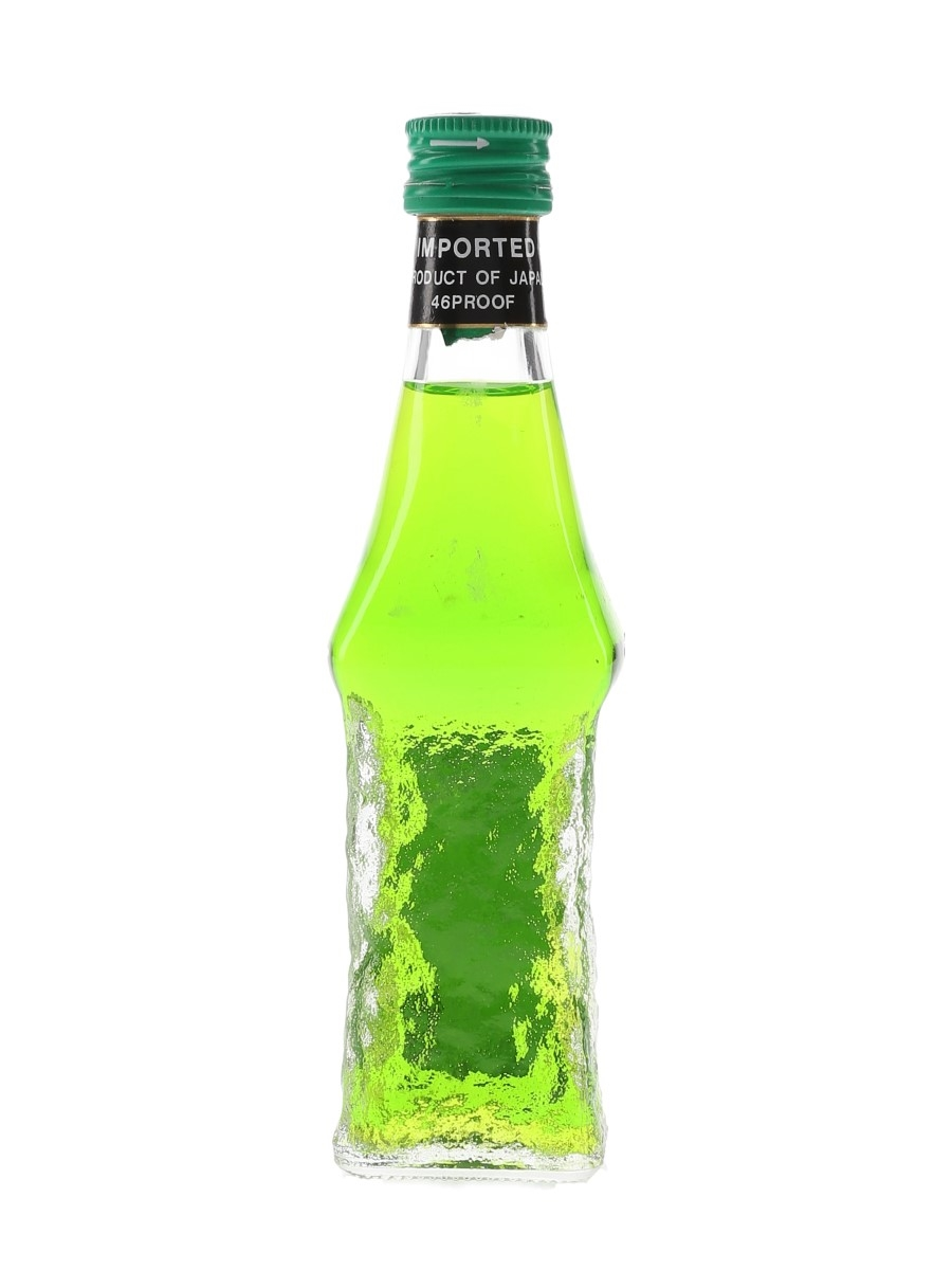 Suntory Midori Melon Liqueur Missing Label 5cl / 26.2%