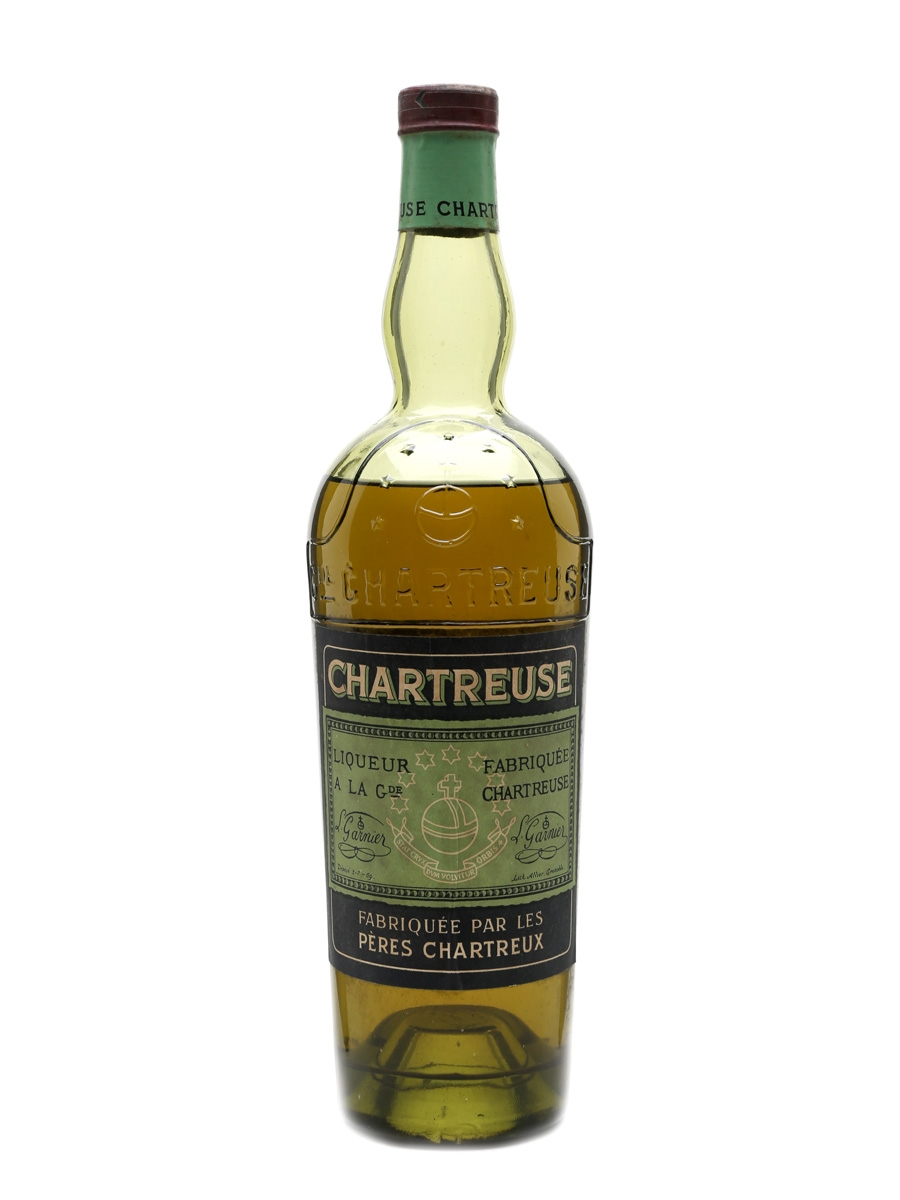 Green Chartreuse Bottled 1950s 75cl / 55%