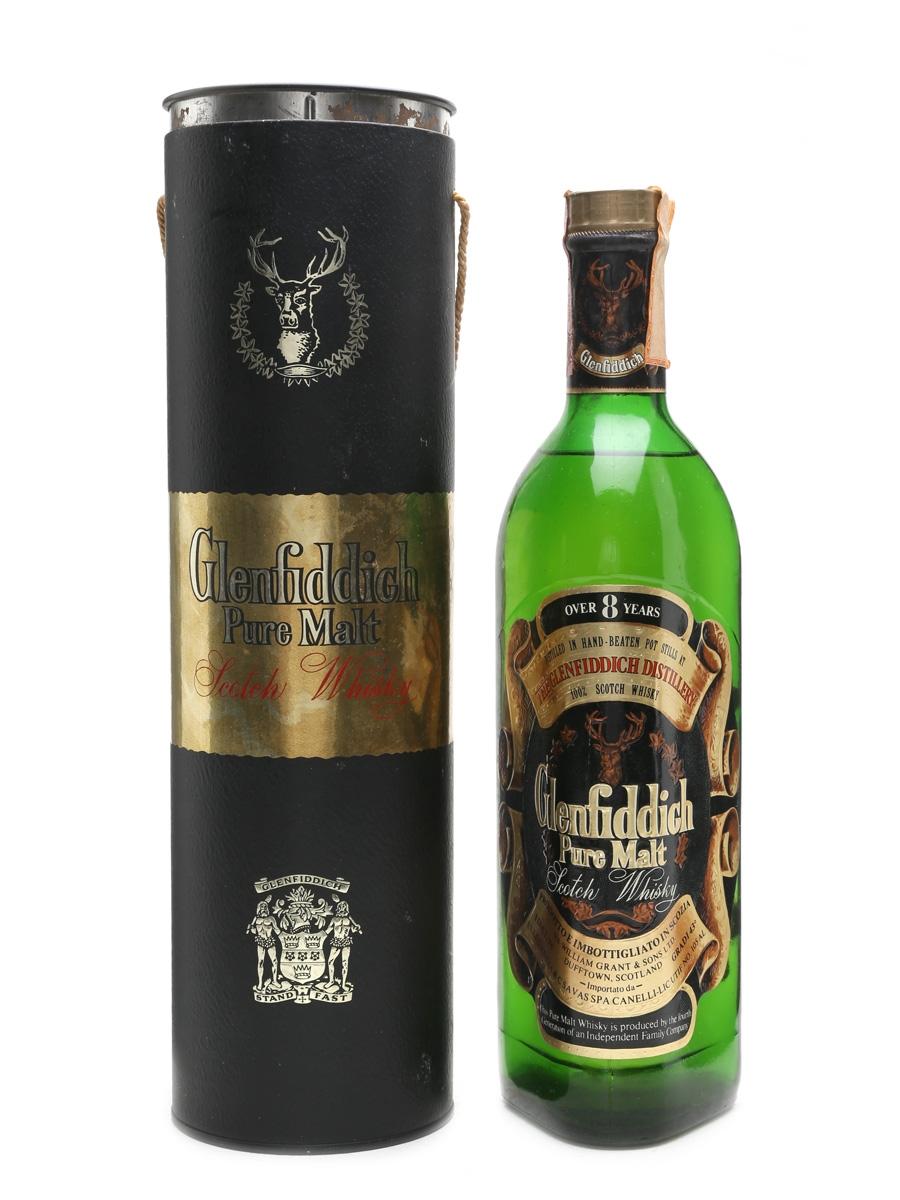 Glenfiddich 8 Year Old Pure Malt Bottled 1970s 75cl / 43%