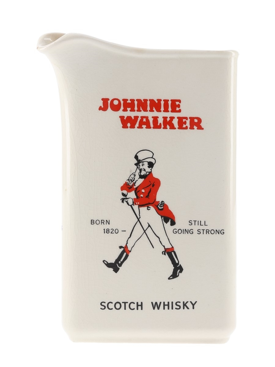 Johnnie Walker Scotch Whisky Water Jug Wade 16cm Tall