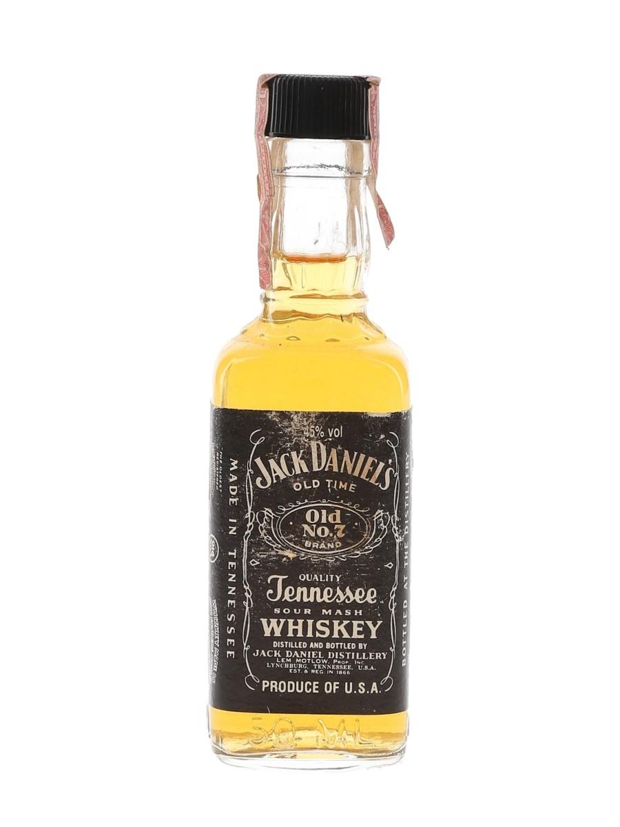 Jack Daniel's Old No.7 Bottled 1980s 5cl / 45%