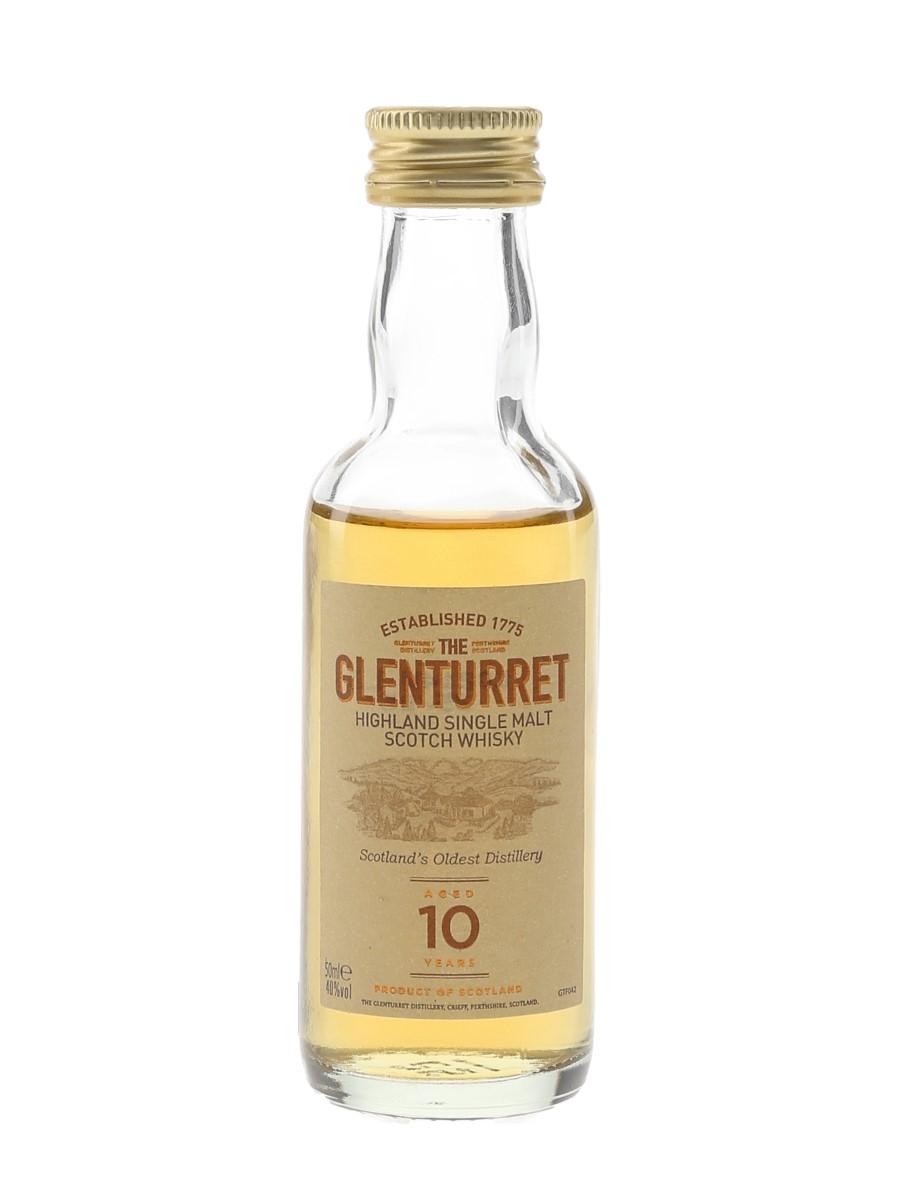 Glenturret 10 Year Old  5cl / 40%