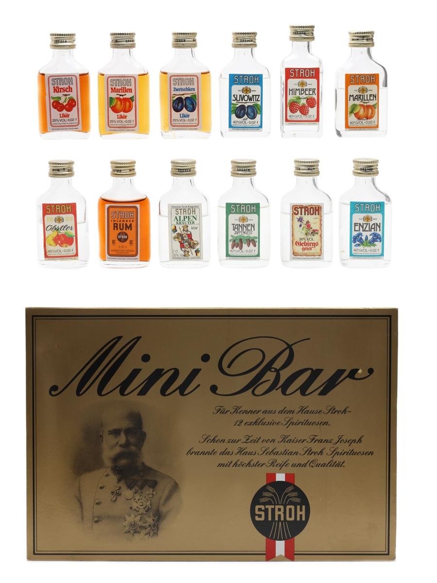 Stroh Mini Bar  12 x 2cl