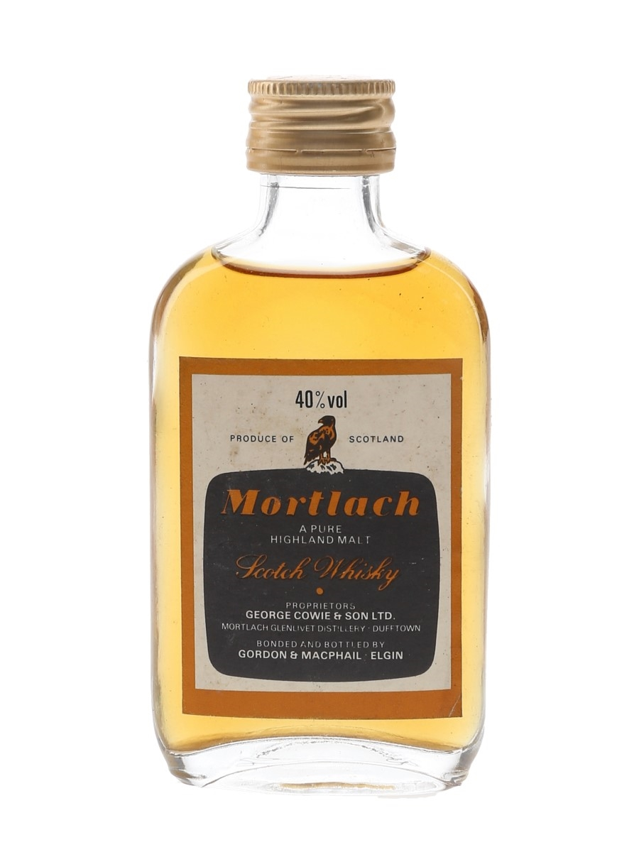 Mortlach Bottled 1980s - Gordon & MacPhail 5cl / 40%