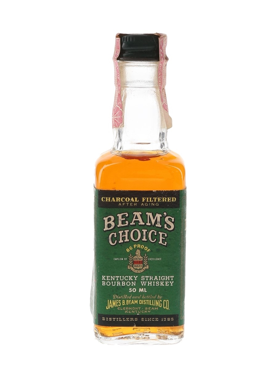 Beam's Choice 8 Year Old Bottled 1980s 5cl / 43%