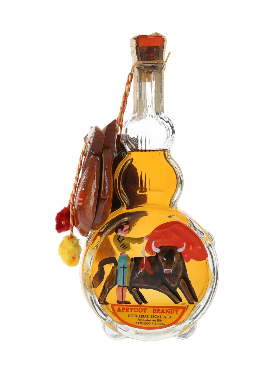 Escat Aprycot Brandy Bottled 1960s 15cl
