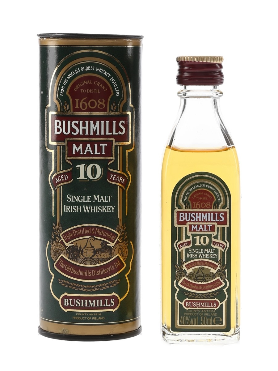 Bushmills 10 Year Old  5cl / 40%