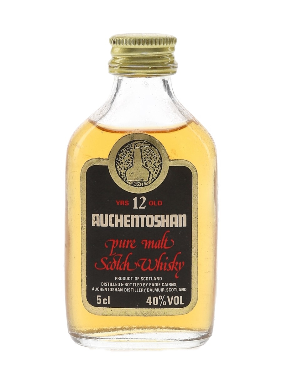 Auchentoshan 12 Year Old Bottled 1980s 5cl / 40%