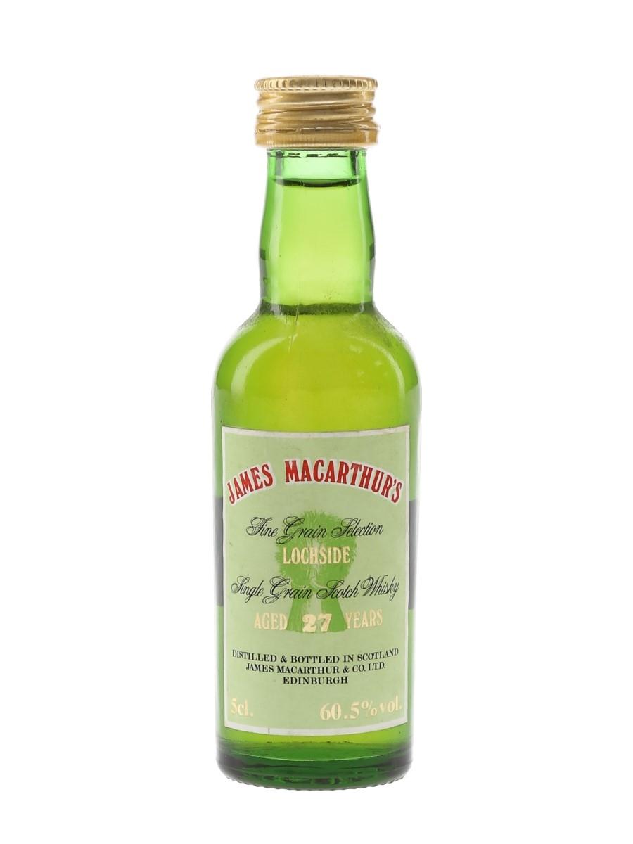 Lochside 27 Year Old Bottled 1991 - James MacArthur 5cl / 60.5%