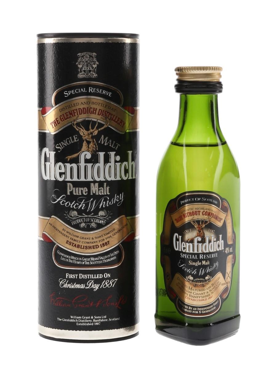Glenfiddich Special Reserve Bottled 1990s 5cl / 40%
