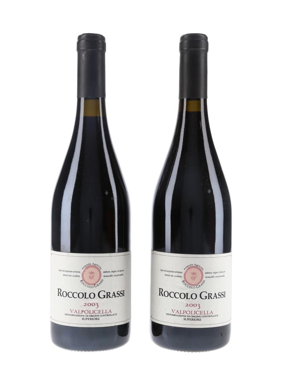 Roccolo Grassi Valpolicella Superiore 2003  2 x 75cl / 14.5%