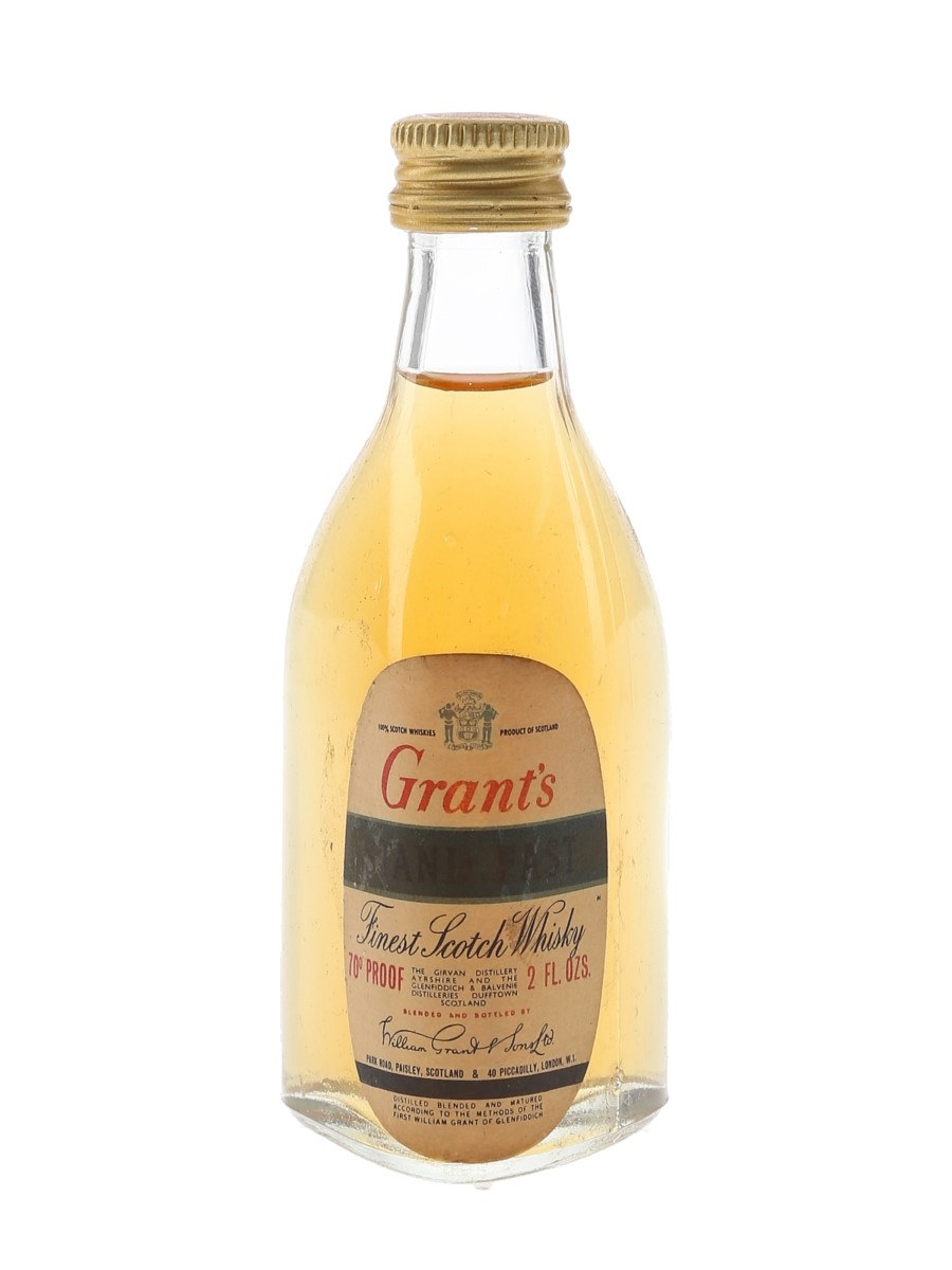 Grant's Stand Fast Bottled 1970s 5.7cl / 40%