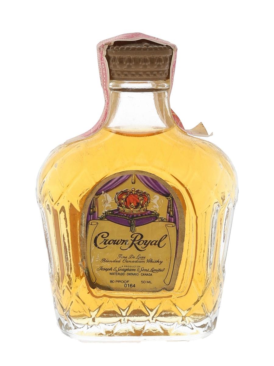 Seagram's Crown Royal Bottled 1960s-1970s 5cl / 40%