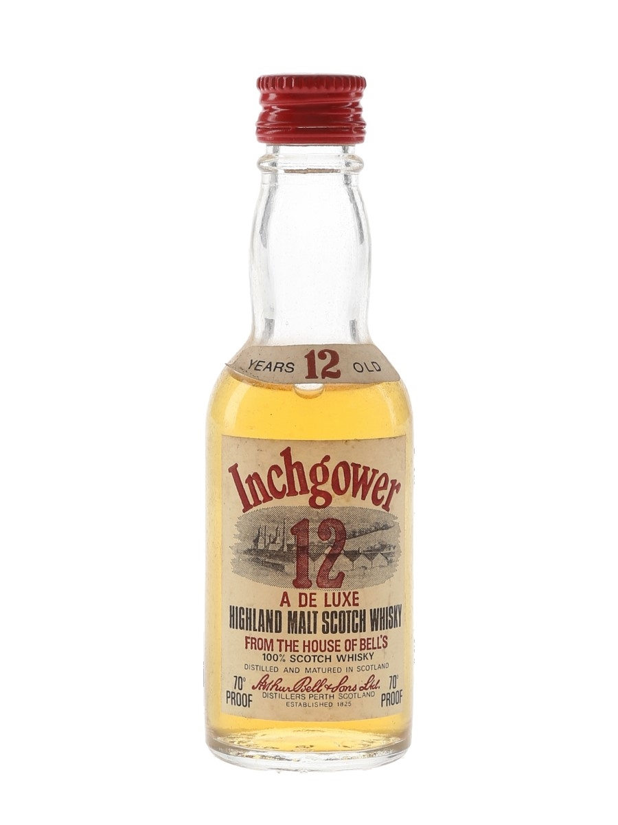 Inchgower 12 Year Old Bottled 1970s 5cl / 40%