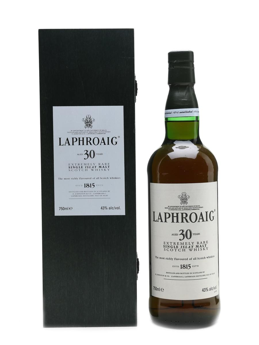 Laphroaig 30 Year Old  75cl / 43%