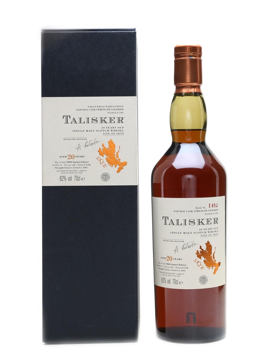 Talisker 1981 20 Year Old 70cl / 62%