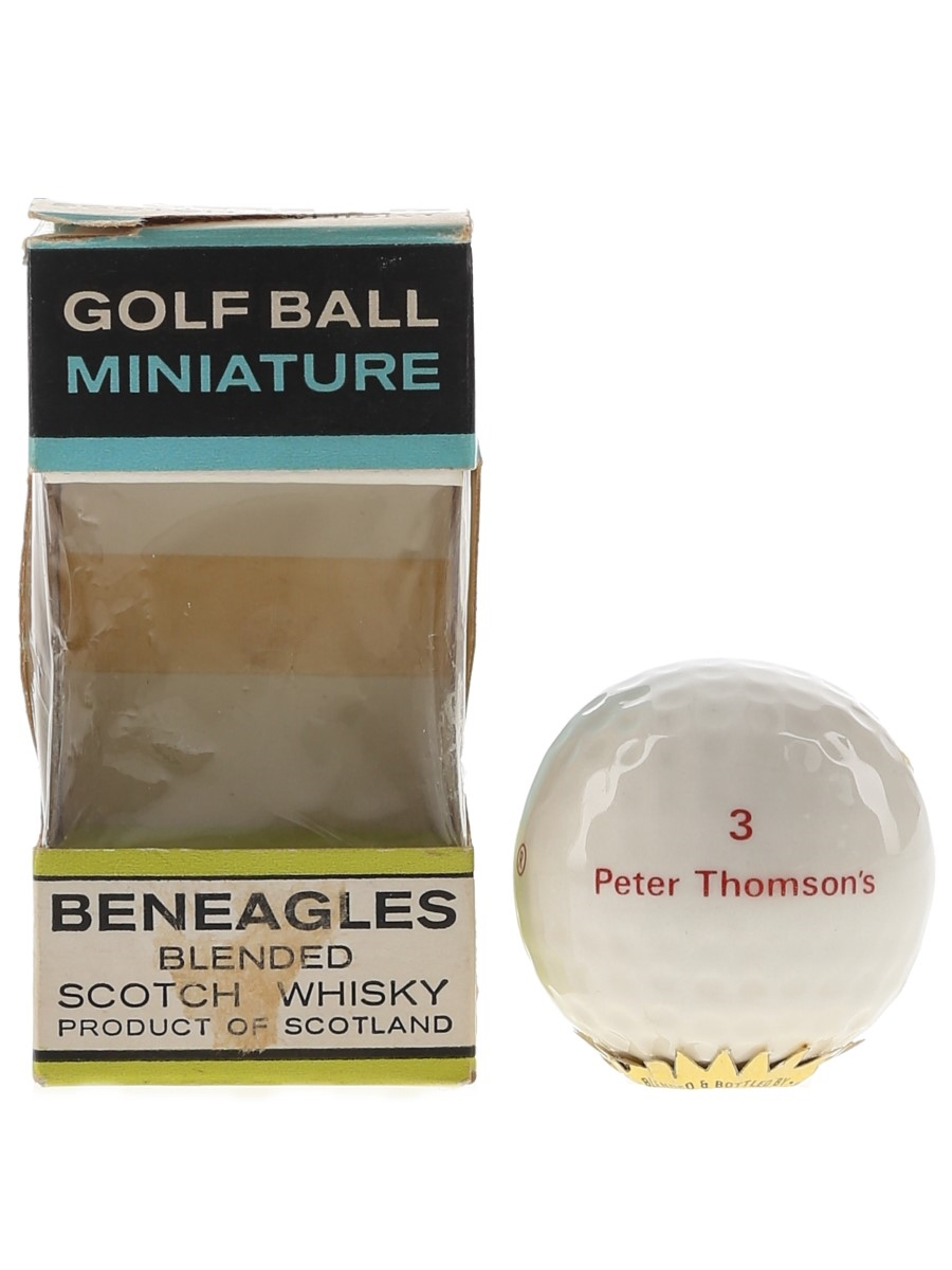 Beneagles Golf Ball Bottled 1970s 3cl / 40%