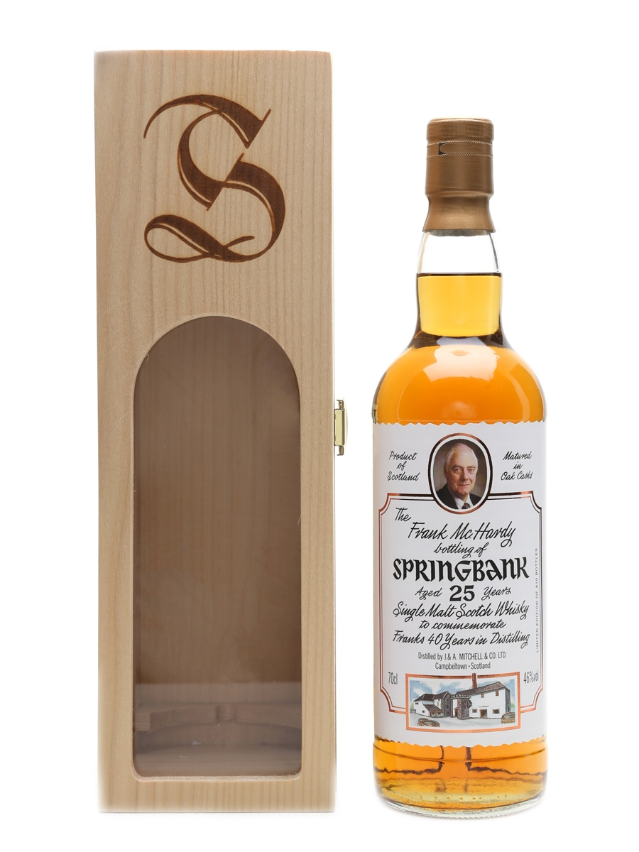 Springbank 25 Year Old Frank McHardy Bottling 70cl / 46%