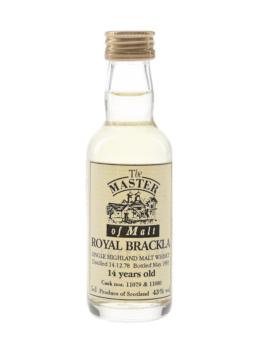 Royal Brackla 1978 14 Year Old Bottled 1993 - The Master Of Malt 5cl / 43%