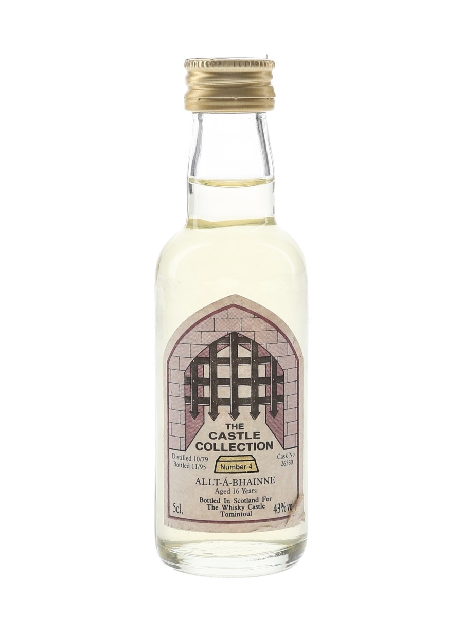 Allt-A-Bhainne 1979 16 Year Old Bottled 1995 - The Castle Collection 5cl / 43%