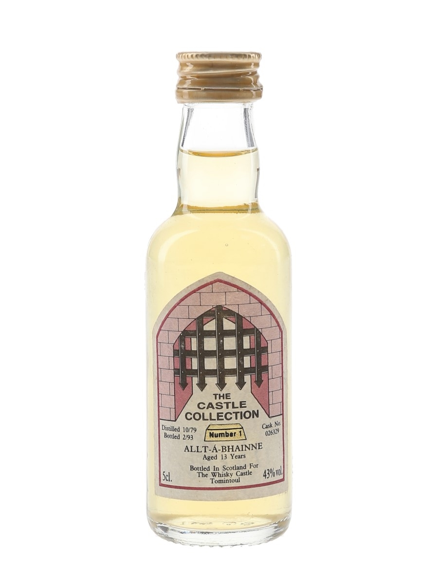 Allt-A-Bhainne 1979 13 Year Old Bottled 1993 - The Castle Collection 5cl / 43%