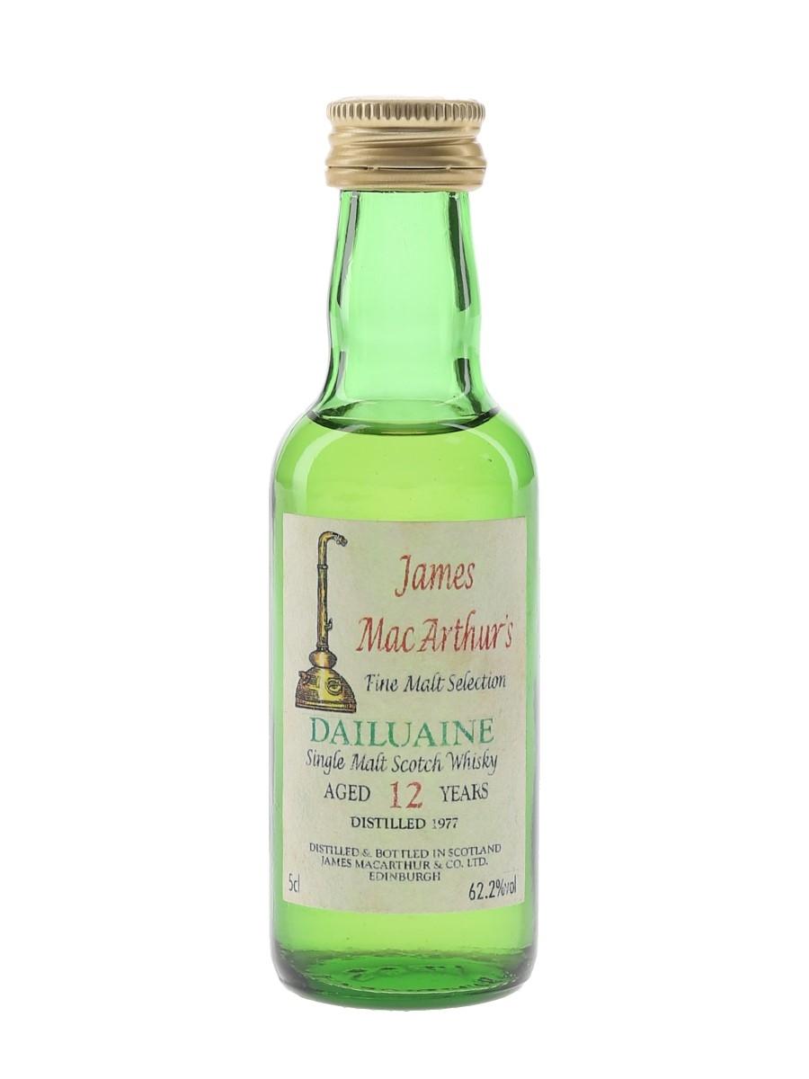 Dailuaine 1977 12 Year Old James MacArthur's 5cl / 62.2%