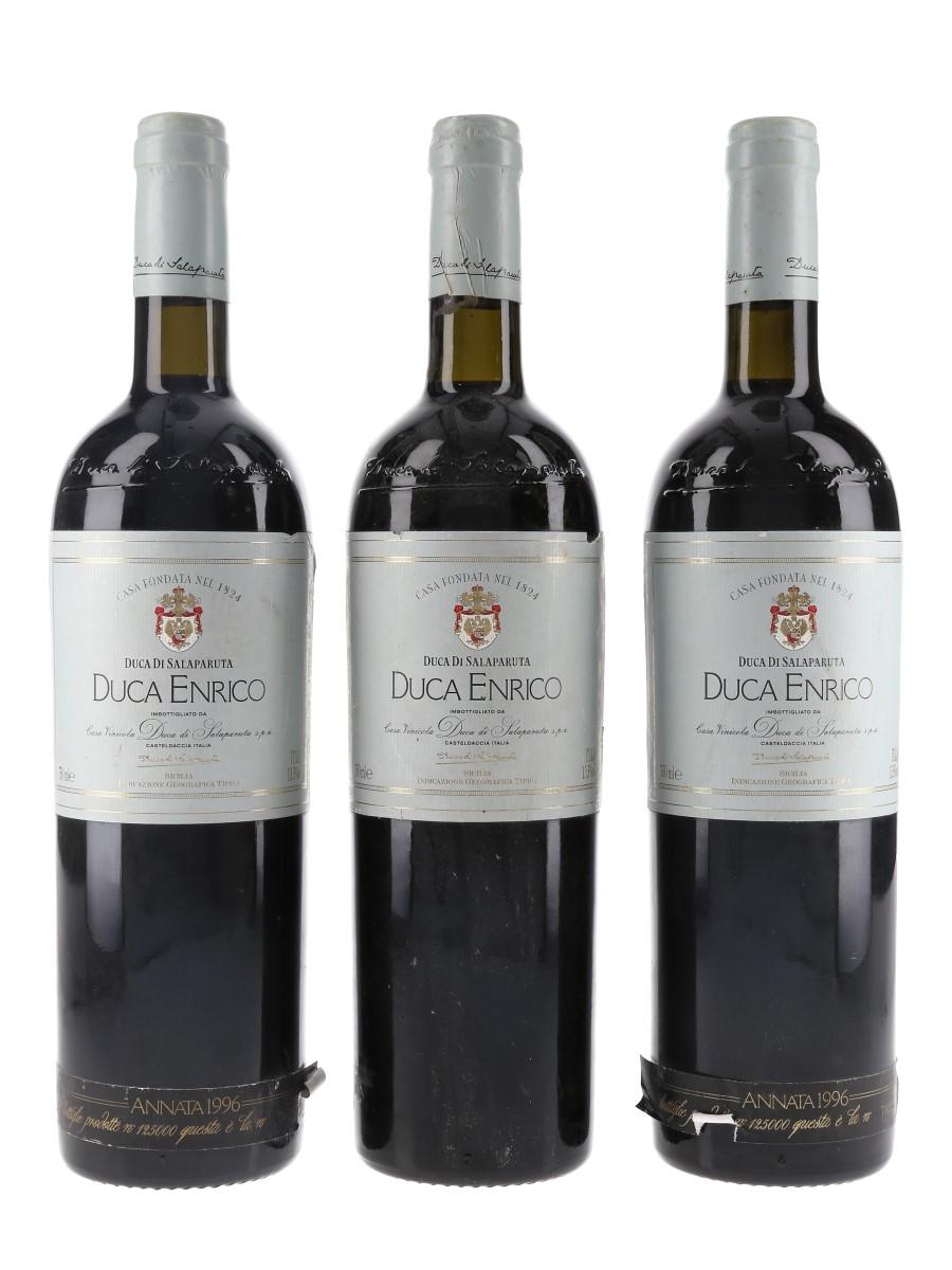 Duca Enrico 1996 Nero D'Avola Duca Di Salaparuta - Sicily 3 x 75cl / 13.5%
