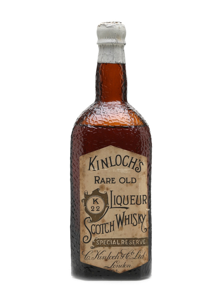 Kinloch's K22 10 Year Old Bottled 1920s 75cl