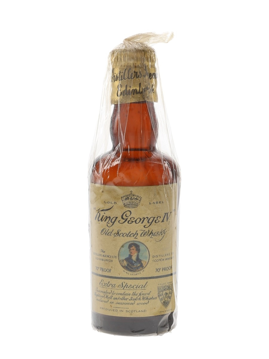 King George IV Bottled 1950s 5cl / 40%