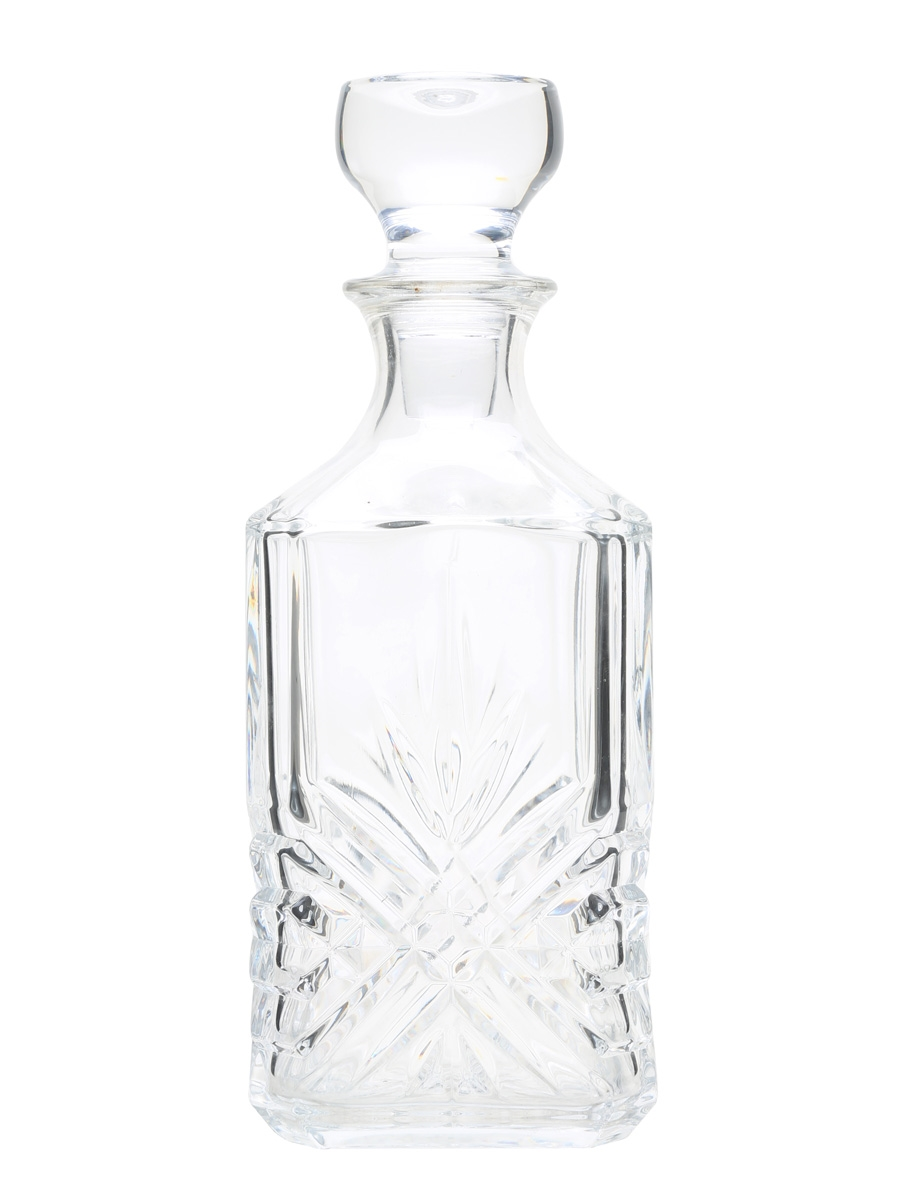 Glass Decanter & Stopper  75cl