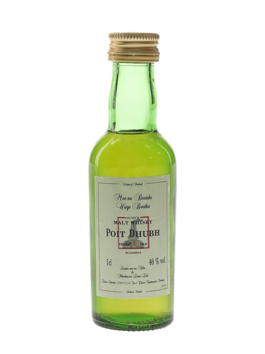 Poit Dhubh 12 Year Old  5cl / 46%
