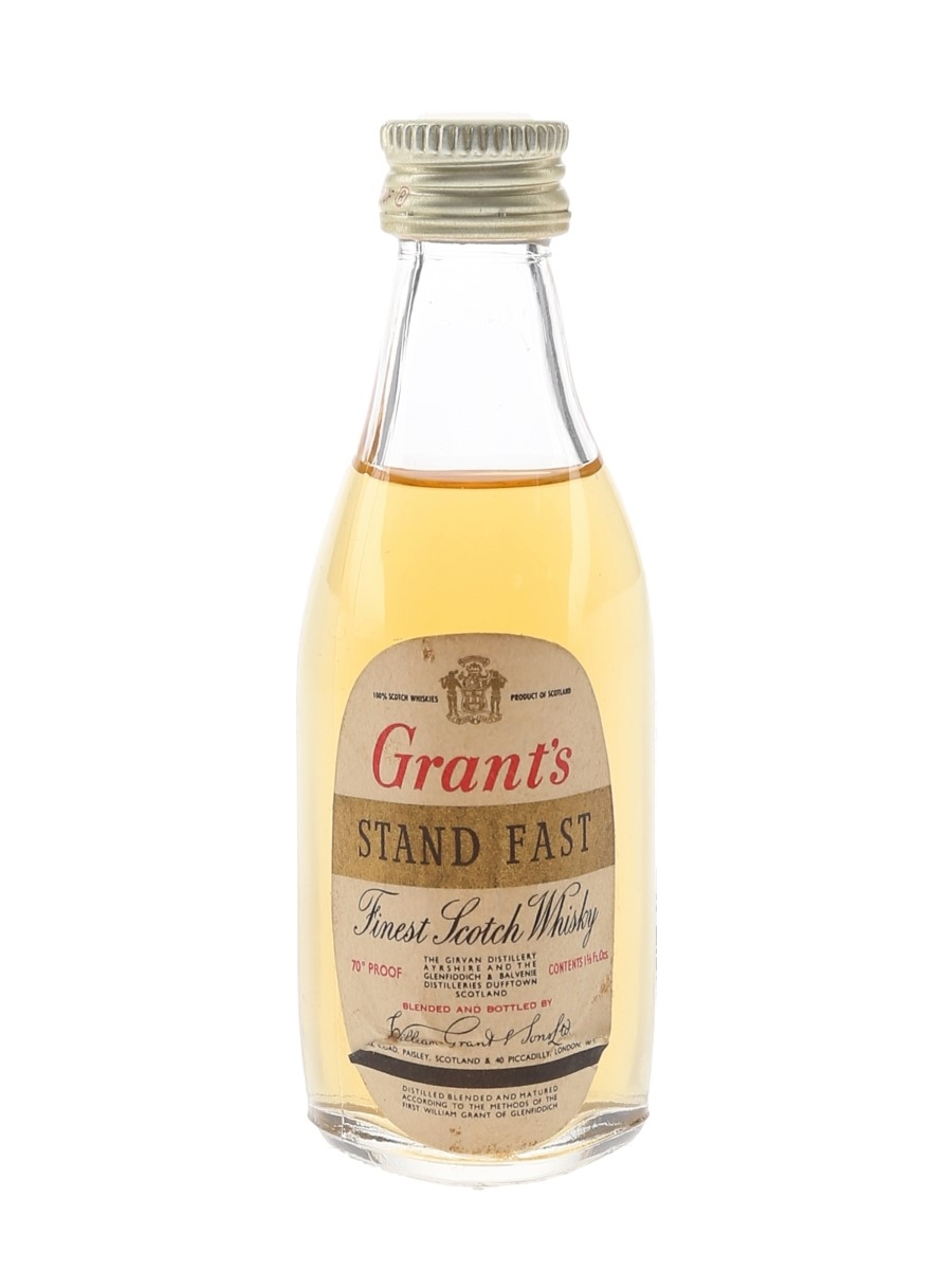 Grant's Standfast Bottled 1970s 4.7cl / 40%