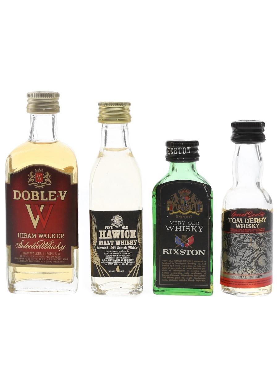 Doble V, Hawick, Rixston & Tom Derry  4 x 2cl-4.7cl