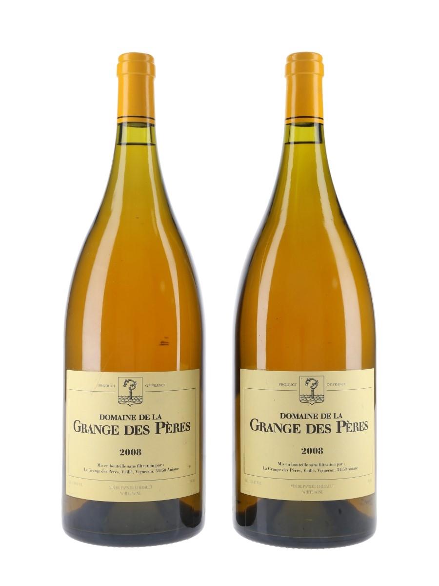 Grange Des Peres Blanc 2008 Large Format - Roussane Blend 2 x 150cl / 13.5%