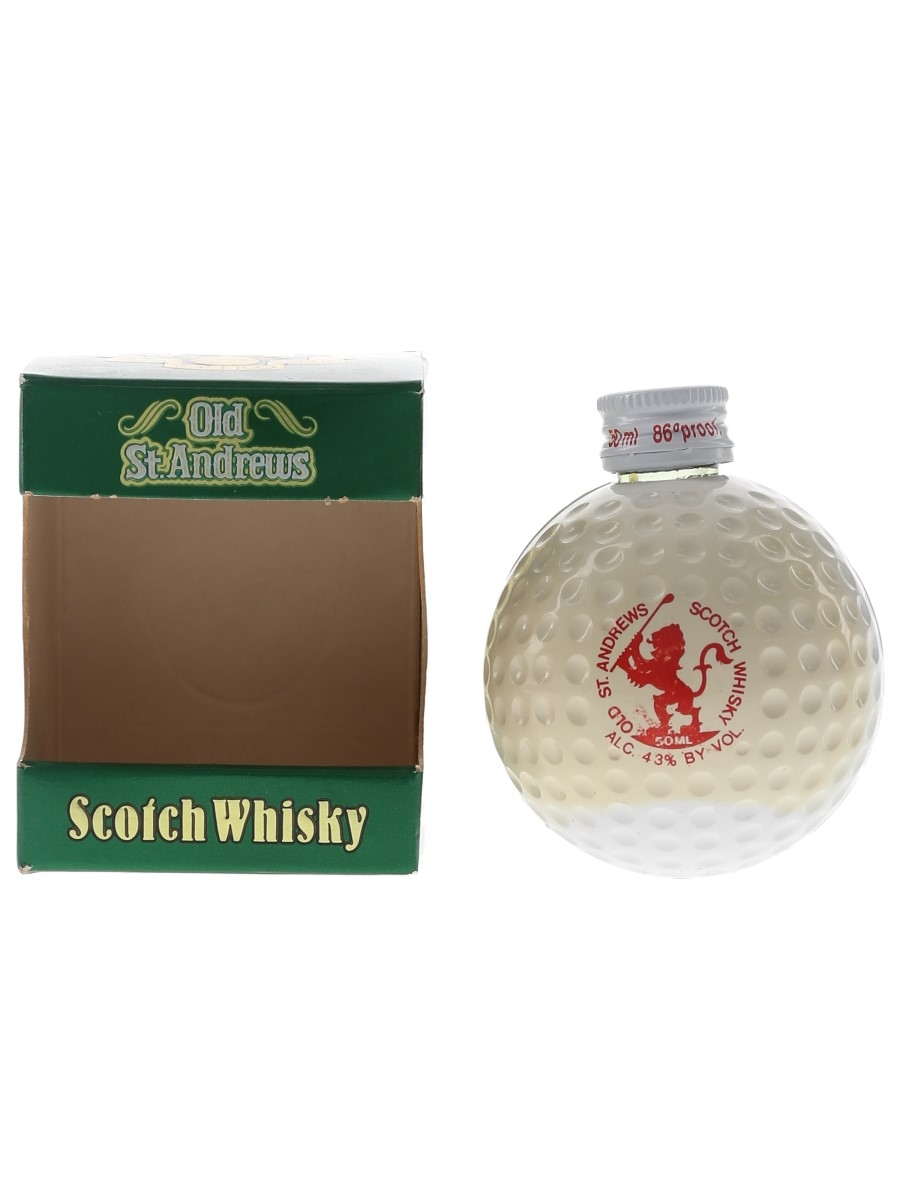 Old St Andrews Golf Ball Miniature Open Champions - Bob Martin 5cl / 43%