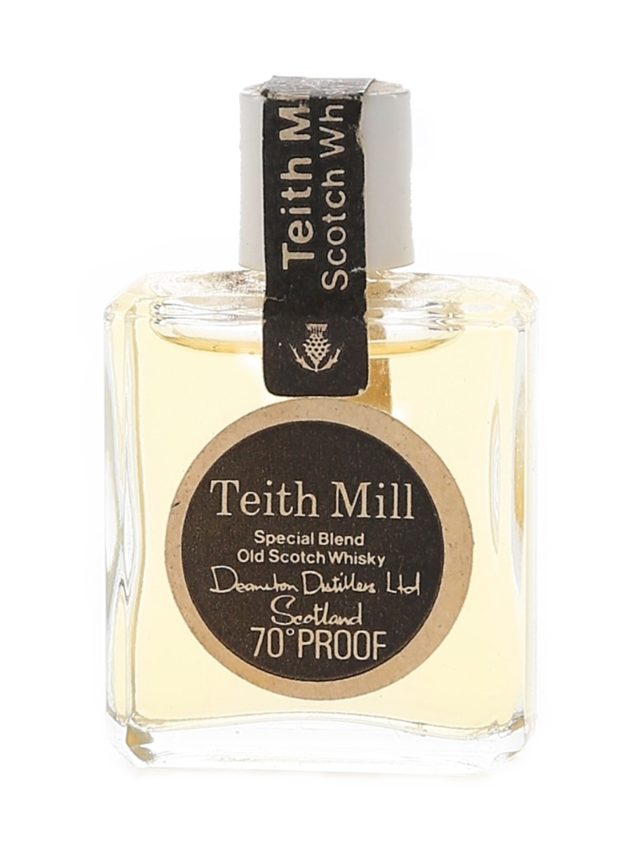 Teith Mill Bottled 1970s - Deanston Distillers 1cl / 40%