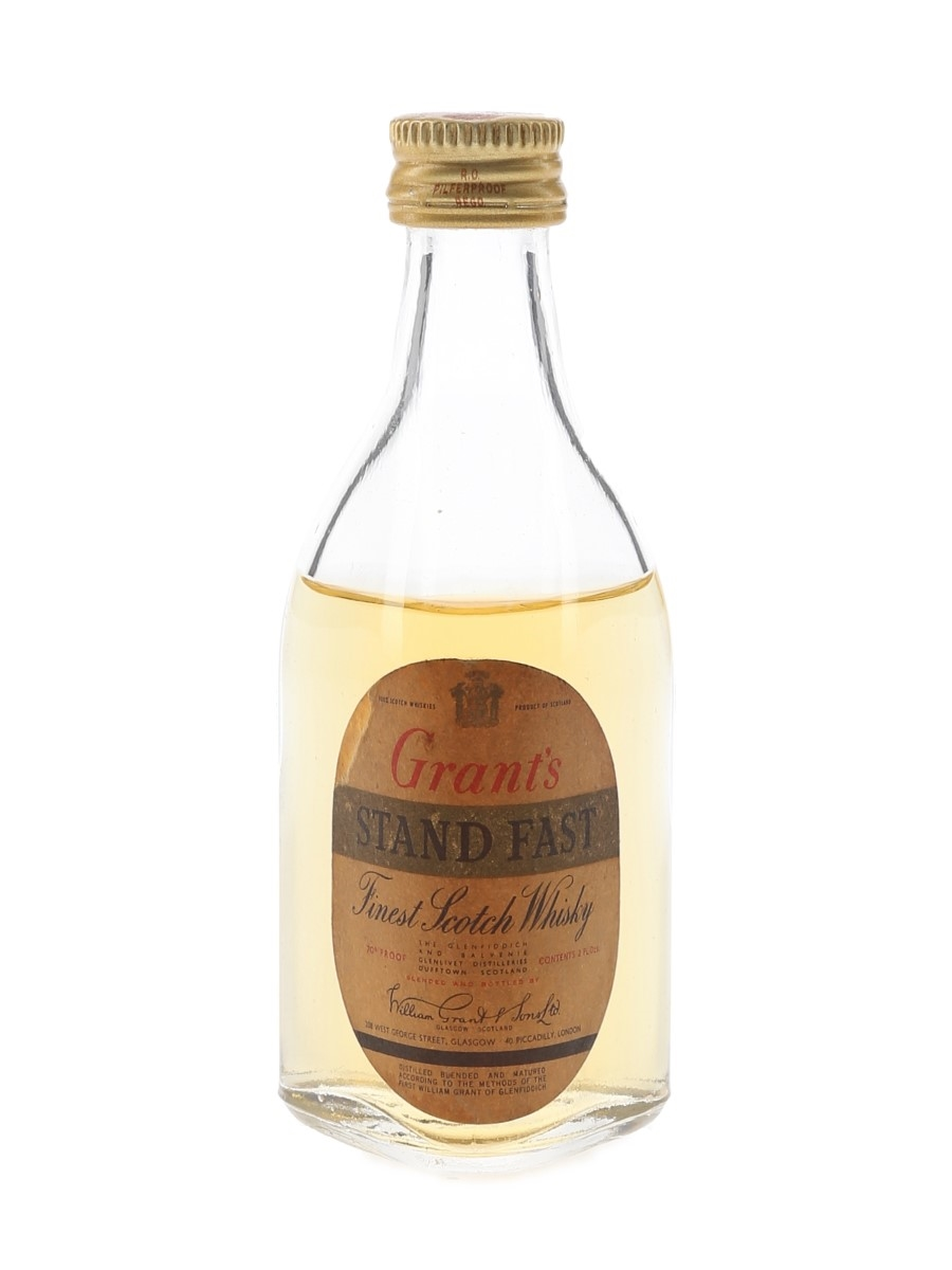 Grant's Standfast Bottled 1960s 5.7cl / 40%