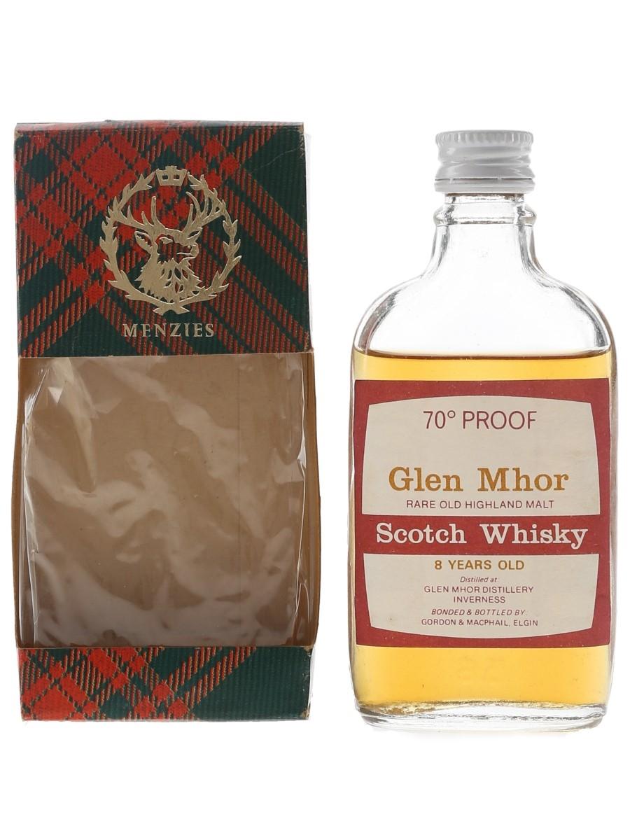 Glen Mhor 8 Year Old Bottled 1970s - Gordon & MacPhail 5cl / 40%