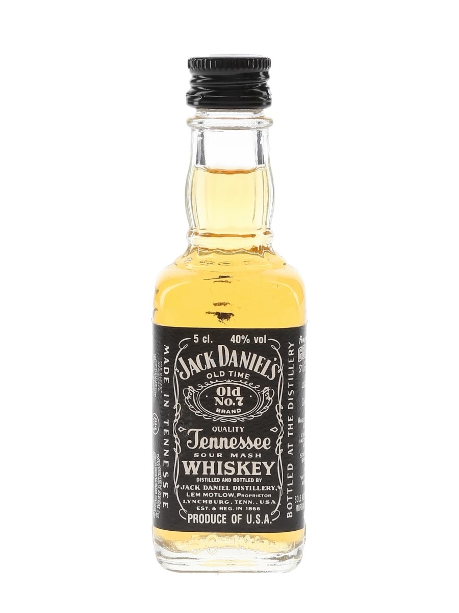 Jack Daniel's Old No.7 Bottled 1990s 5cl / 40%
