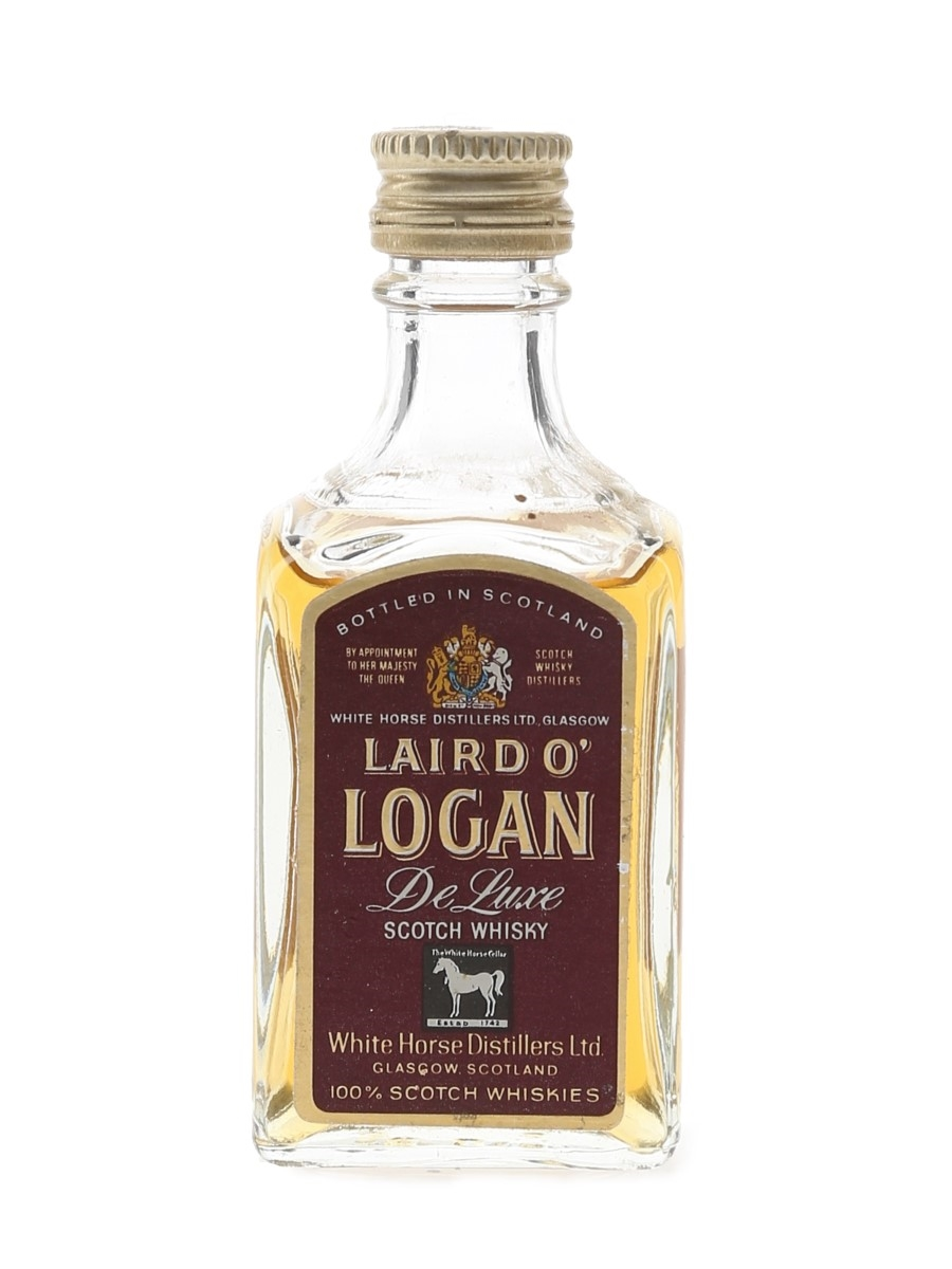 Laird O' Logan De Luxe Bottled 1960s - White Horse Distillers 5cl