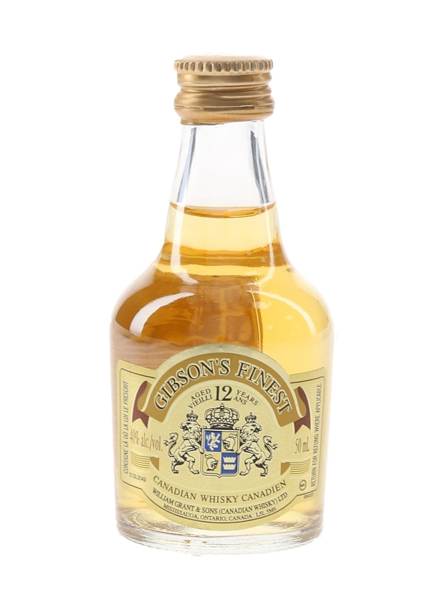 Gibson's Finest 12 Year Old William Grant & Sons 5cl / 40%
