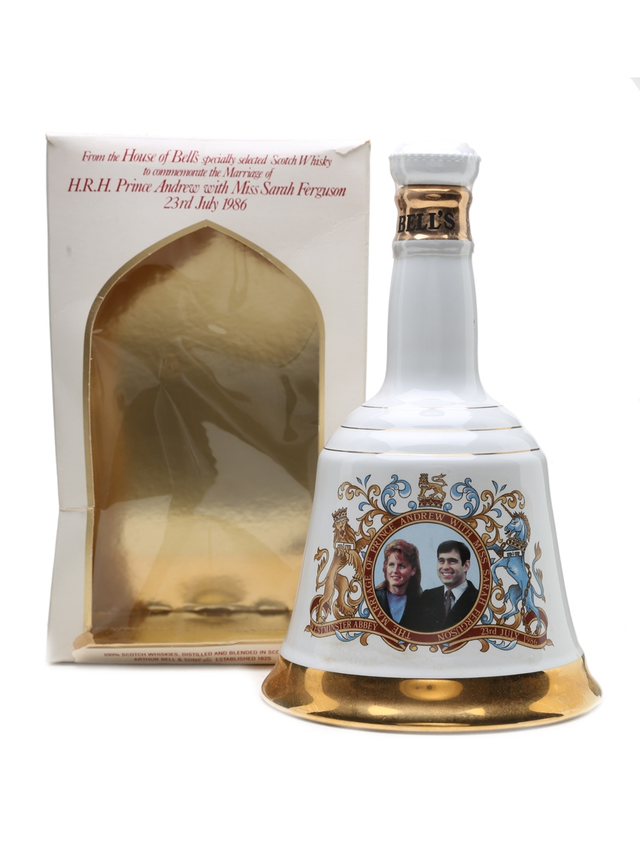 Bell's Decanter Prince Andrew & Sarah Ferguson 75cl / 43%