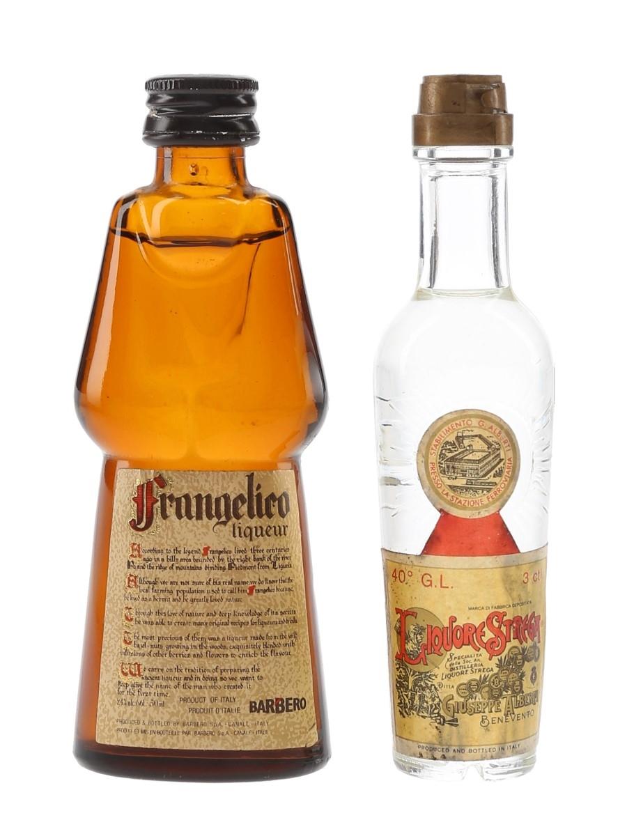 Frangelico & Strega Liqueurs  3cl & 5cl