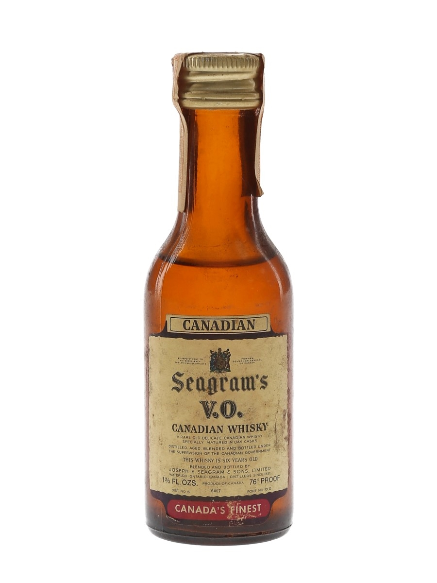 Seagram's VO 6 Year Old 1968  4.7cl / 43.4%