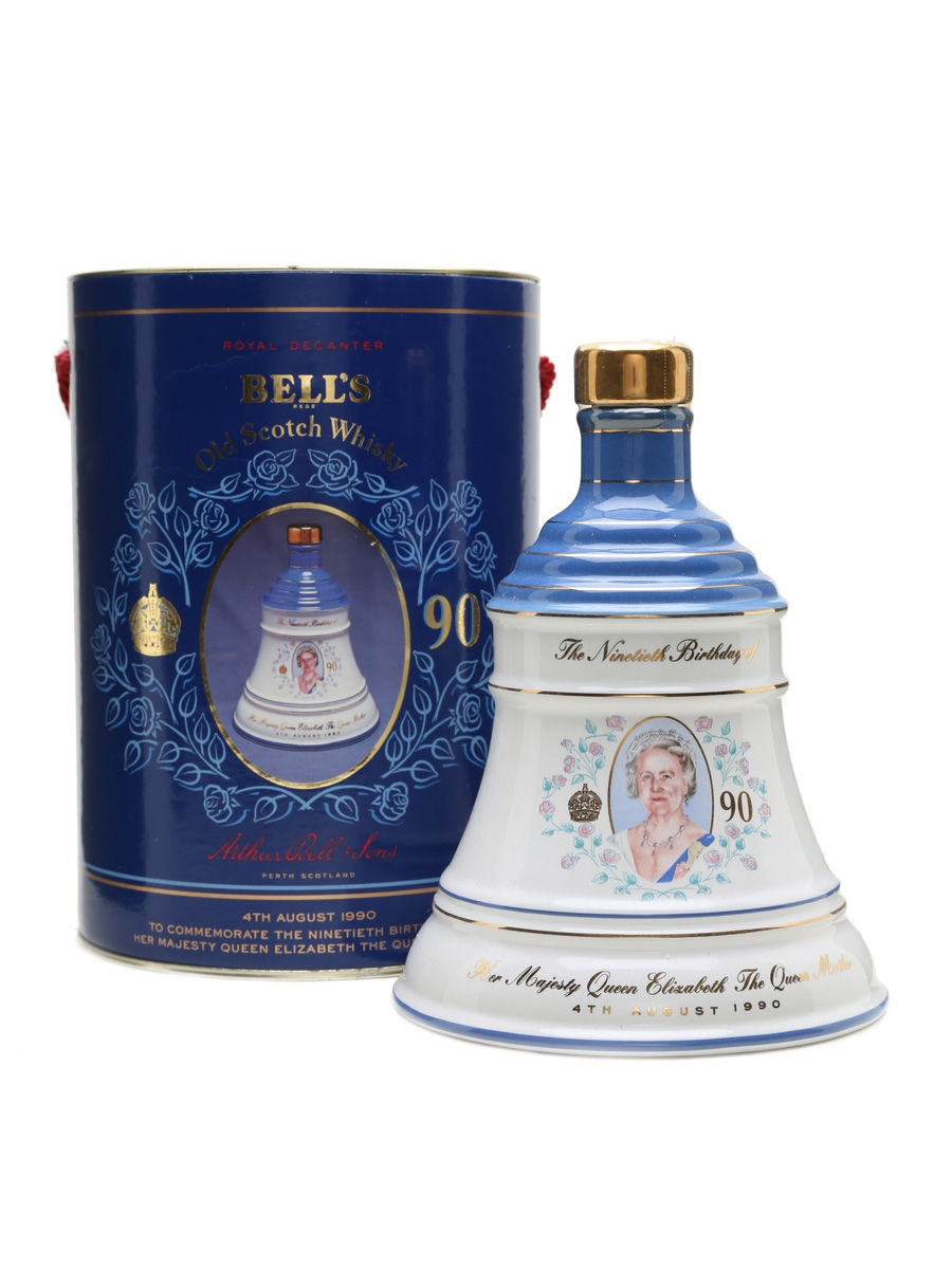 Bell's Decanter The Queen Mother's 90th Birthday 75cl / 43%