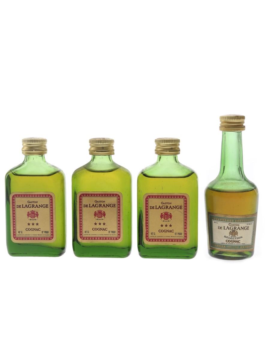 Gaston De Lagrange Bottled 1970s 3 x 5cl / 40%
